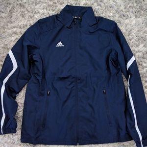 Addidas x large windbreaker jacket womens